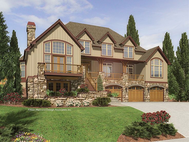 Craftsman Mountain Home My Style Pinterest