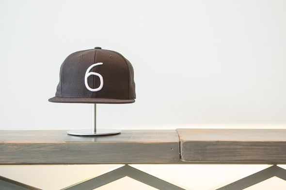 """Just opened OVO pop-up shop in Toronto sells """"6"""" hats"""