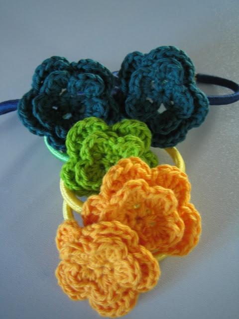 Bettekun: DIY Hæklet blomst i 2 lag