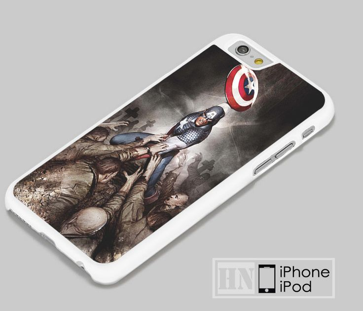 Captain America Hail Hydra iPhone iPod Cases, Samsung Cases, HTC one Cases, LG Cases