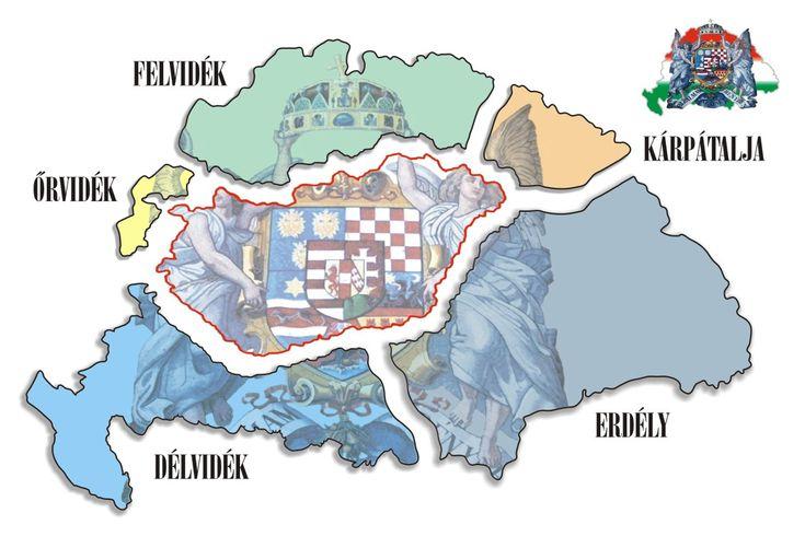 Nagy Magyarország szétdarabolása