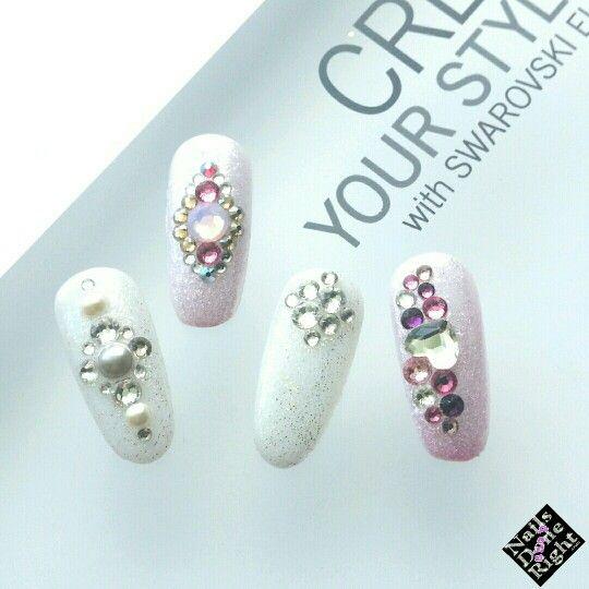 Swarovski Crystal Culture nail design kits perfect for #Weddingnails  #nailart #swarovskinails - Best 25+ Nail Design Kit Ideas On Pinterest Mirror Nails Powder