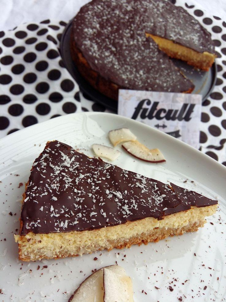 Neskutočne dobrá fit Bounty torta s dostatkom bielkovín a nižším obsahom sacharidov (Recept)