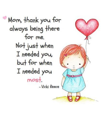 Thankful To Be A Mom Quotes: 17 Best Thank You Mom Quotes On Pinterest