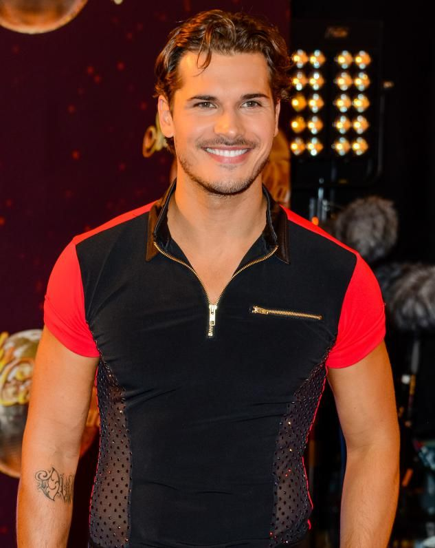 Gleb Savchenko at the Strictly 2015 launch :P <<<< why does he look…