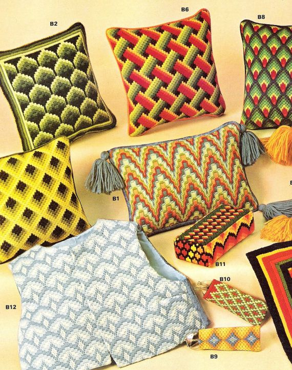 Bargello Needlepoint Patterns by Margaret Boyles