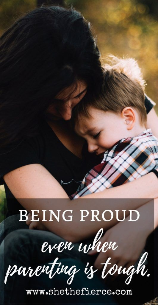 Motherhood Pride When The Days Are Difficult | #motherhood #parenting #momlife | How to be proud when parenting gets tough.