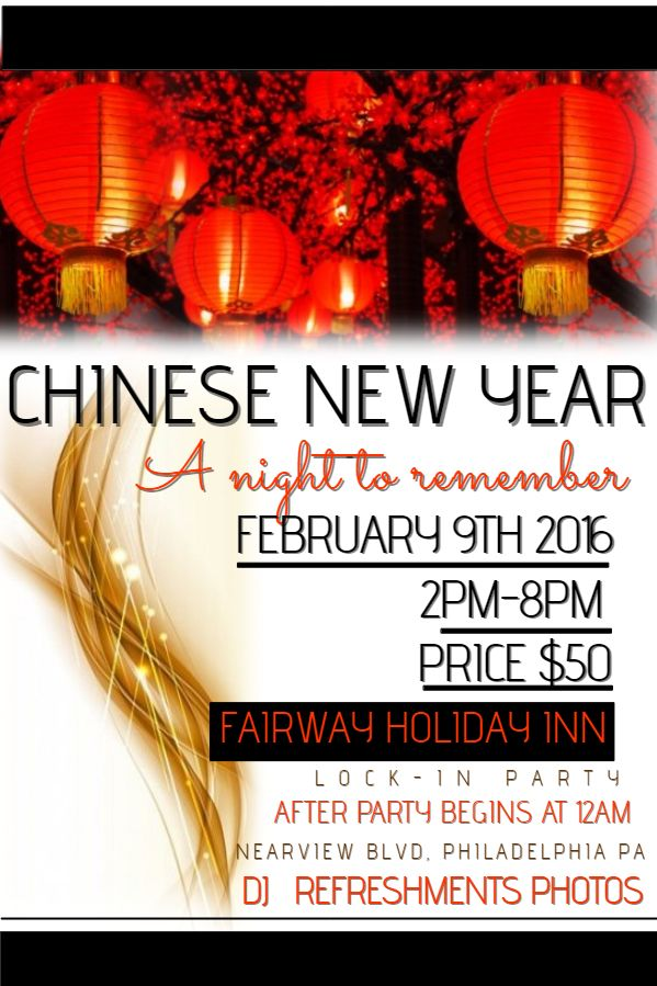 7 best Chinese New Year Flyer Templates images – New Year Poster Template