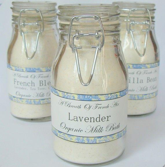 Soothing Organic Lavender Milk Bath