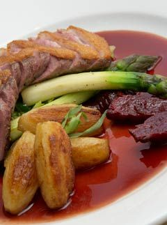 'This recipe is one of the most popular dishes on my menu,' says head chef of The Black Boy Inn, Kevin Hodgkiss, 'and probably one of the tastiest too. I use Gressingham Duck because it is a lot more tender and tastier compared to its French counterparts.
