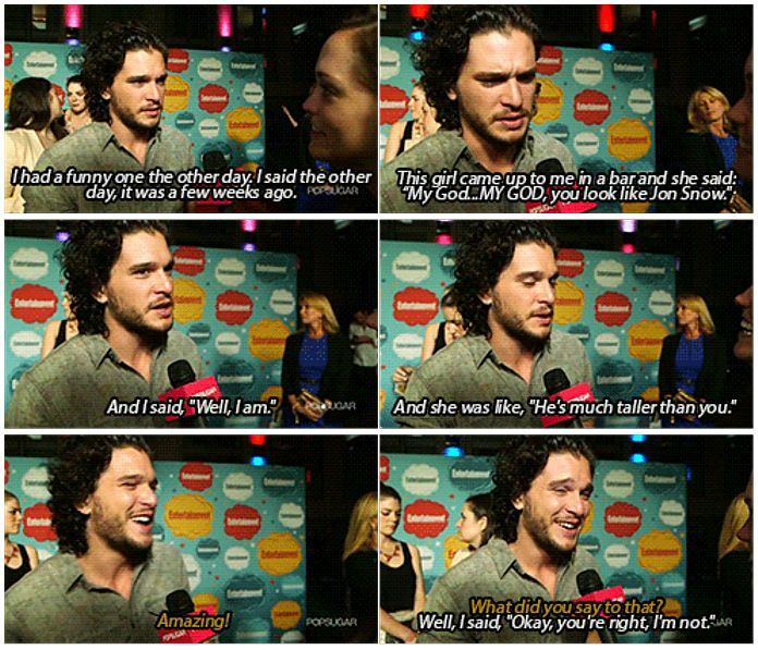 Game of Thrones Interviews. Kit harington