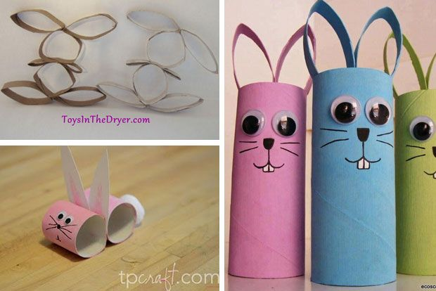 Easter craft - TP roll craft