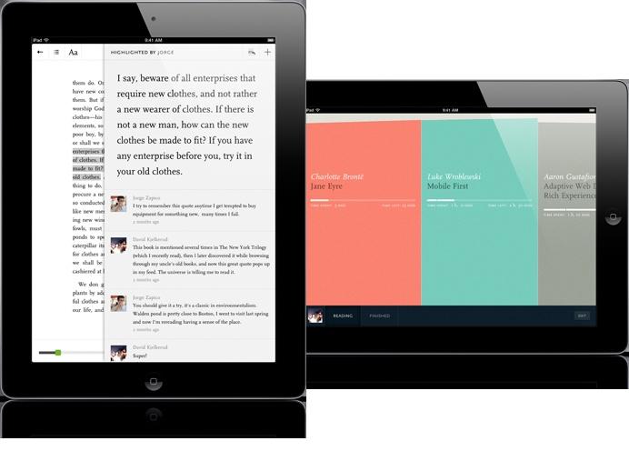 Readmill for iPad - A social ebook reader