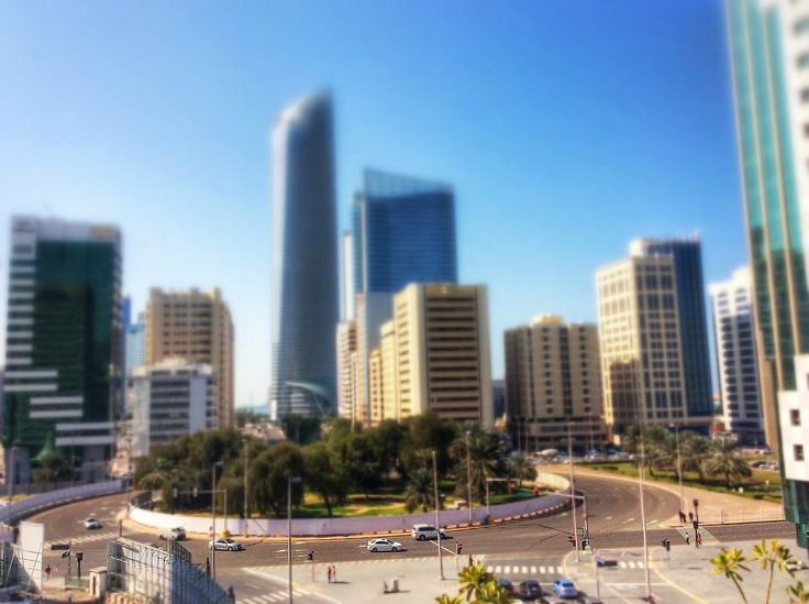 #abudhabi in #tiltandshift by #andreaturno - #ipadair