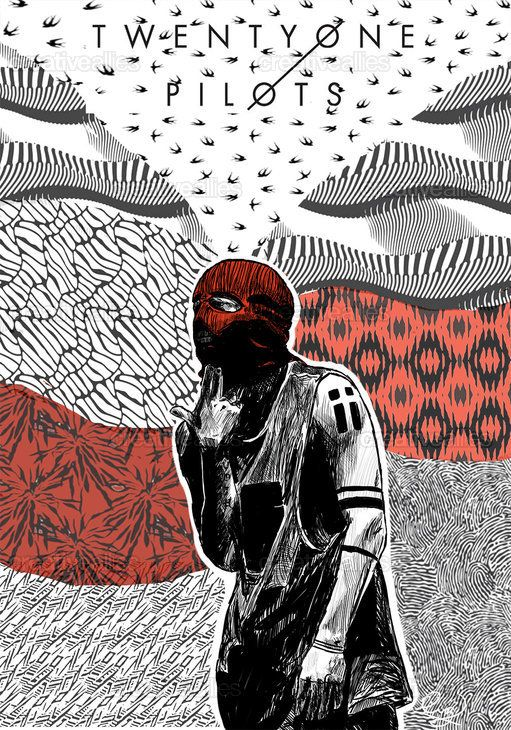 TWENTY+ONE+PILOTS+Poster+by+Mile+Gomez+on+CreativeAllies.com