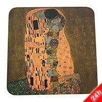 Klimt parafa poháralátét - The Kss