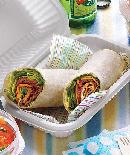 Roast Beef and Cheddar Roll-Ups: All it takes is a few fridge staples to throw together these roast beef and cheddar roll-ups — quick and easy! Source: Dana Gallagher/Real Simple