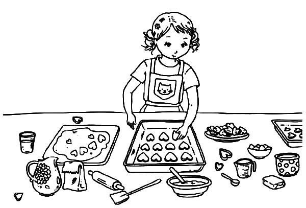 Cookie Coloring Pages Super Coloring Pages Coloring Pages For