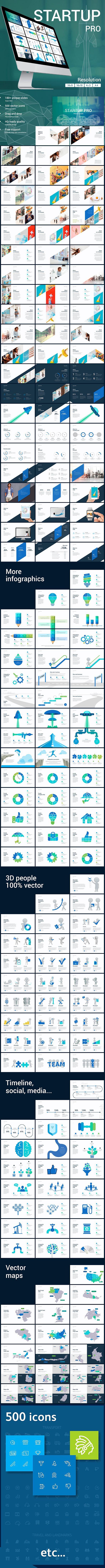 StartUP PRO presentation template — Powerpoint PPTX #best #modern • Download ➝ https://graphicriver.net/item/startup-pro-presentation-template/20233102?ref=pxcr
