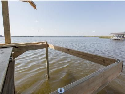 How to Build Hanging Dock Hammocks | how-tos | DIY