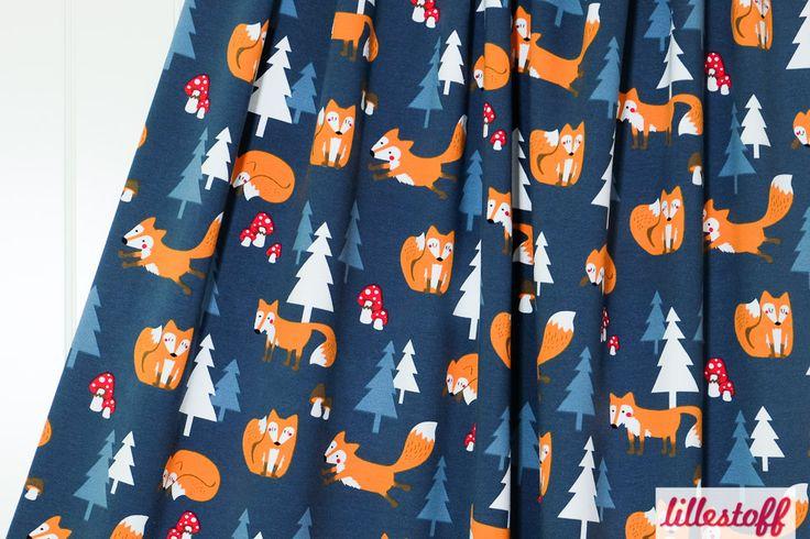 lillestoff » Jumpy Foxes « // Design: Kathrin Wessel/käselotti // ausverkauft