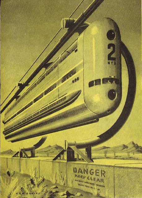 amazing vintage Sci-Fi artwork by modern_fred, via Flickr