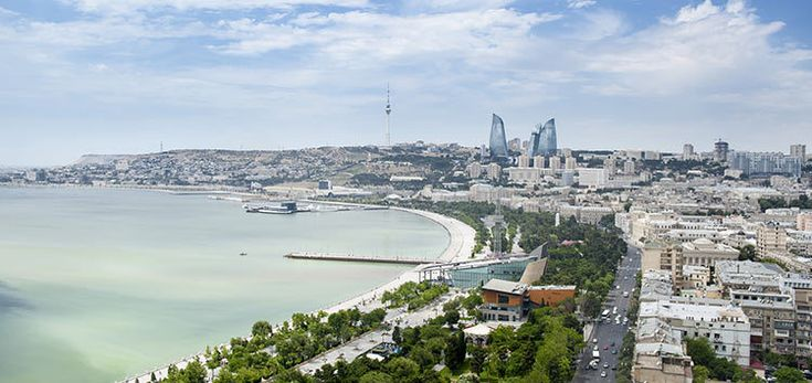 Azerbaijan's capital Baku is the country's financial hub
