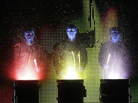 Blue Man Group | Tickets Available! | Fox Theater Atlanta, GA | Sharp Aquos Theater Orlando, FL | Monte Carlo Hotel Casino Las Vegas, NV | Charles Playhouse Boston, MA | Astor Place Theater New York, NY | Briar Street Theater Chicago, IL