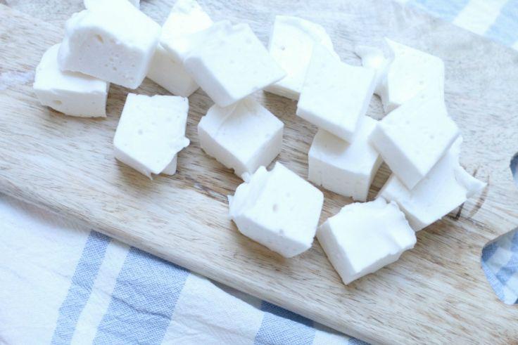 Marshmallows med sitron