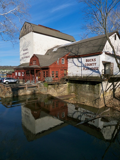 Bucks County Playhouse, New Hope, PA. Newly reopened featuring a variety of shows for families and adults to enjoy!