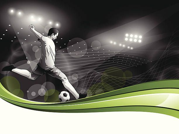 Soccer Background Eps 10 File With Transparencies File Is Layered Soccer Backgrounds Soccer Soccer Players