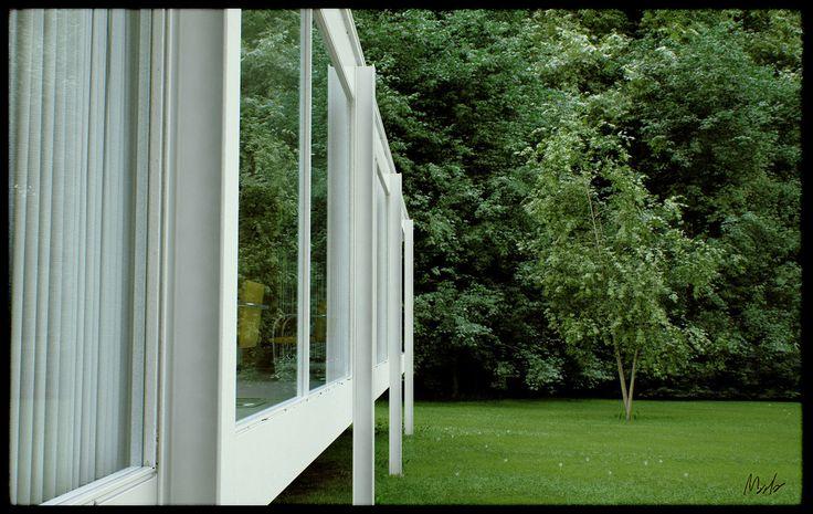 Architectural render mies van der rohe farnsworth house3 architectural renders pinterest farnsworth house