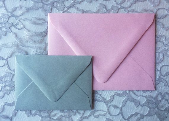 Wedding Invitation Envelopes Colored Envelopes by CZinvitations