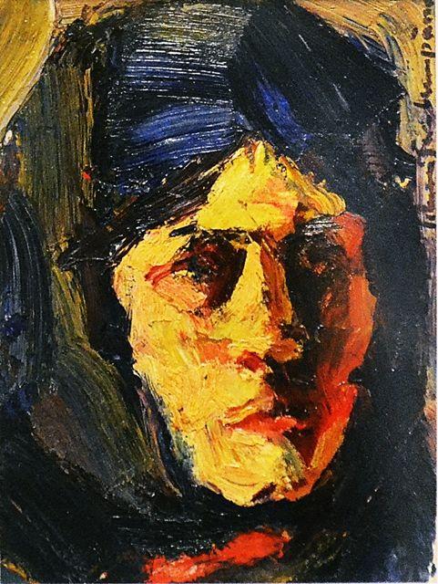 Rudolf Schweitzer-Cumpăna (1886-1975) Portret/ Portrait