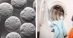 Increíble lo que sucede al lavar con aspirina