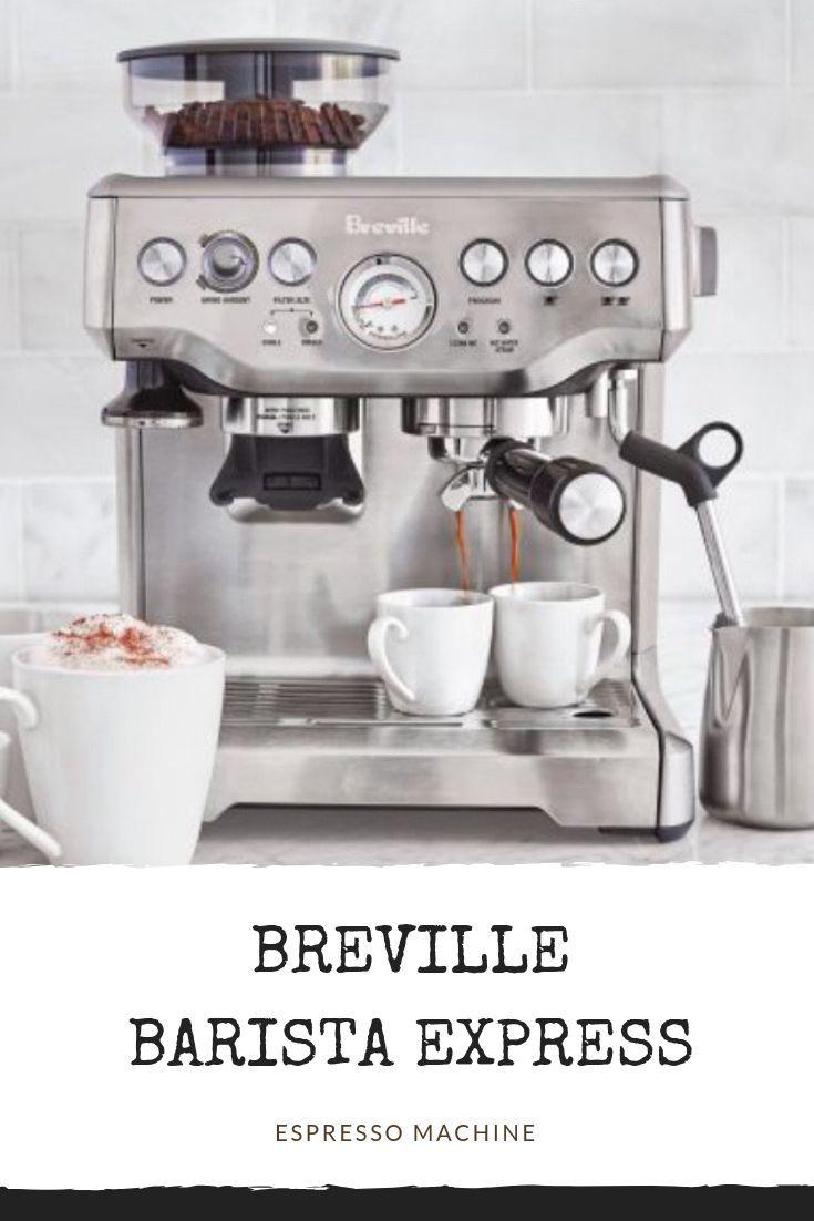 Breville Barista Express Espresso Machine In 2020 Breville Espresso Machine Best Espresso Machine Breville Espresso