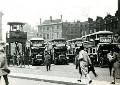 Victoria Bus Station, 1927