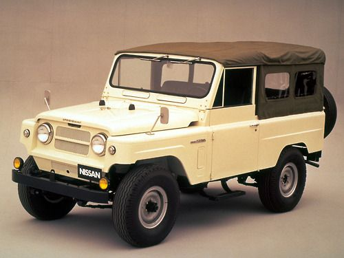 NISSAN (Japan) Patrol LWB Soft Top (G60) '1960–84