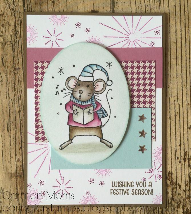 Caring for Stamps: Aftellen naar de Herfst/Winter Catalogus #13: Stampin' Up! ~ Merry Mice