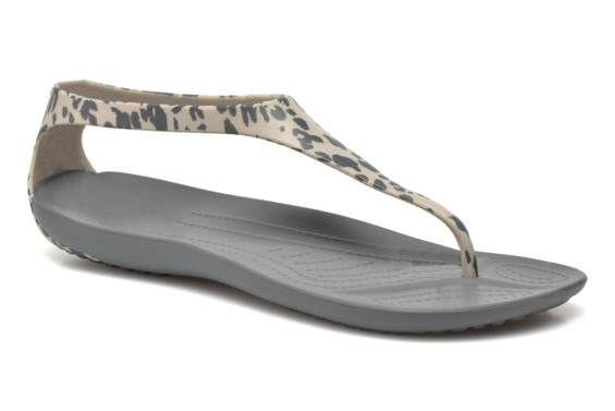 Sandales et nu-pieds Sexi Leopard Print Flip W Crocs vue 3/4