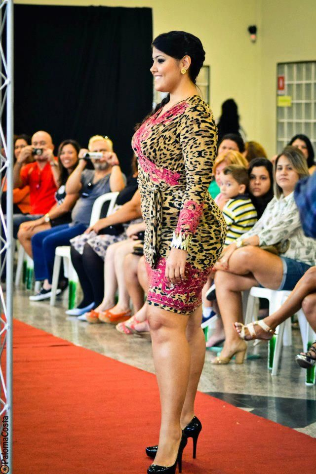 image Bbw sexy fashion show no nude