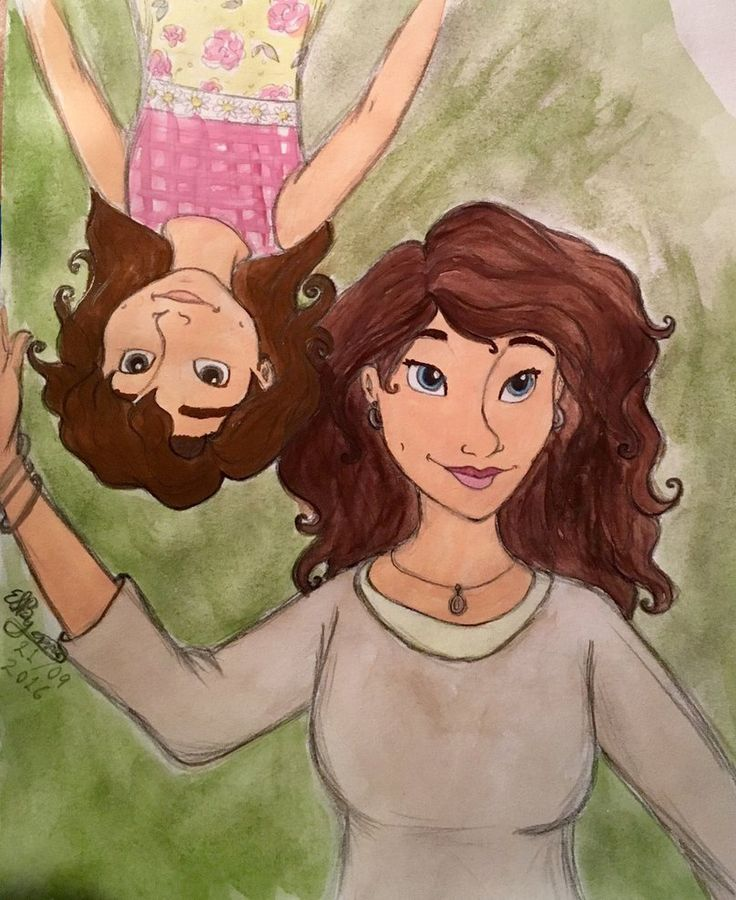 Mother & Daughter, by Erin Sheena Byrne. 26/09/2016
