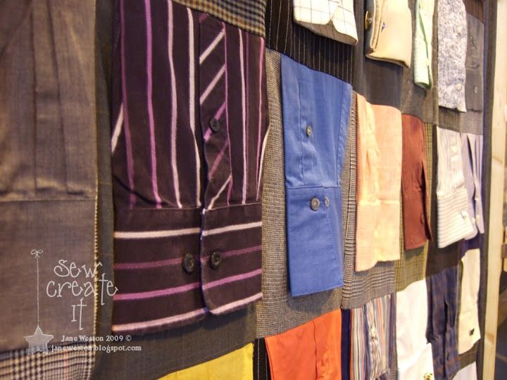 shirt sleeves quilt