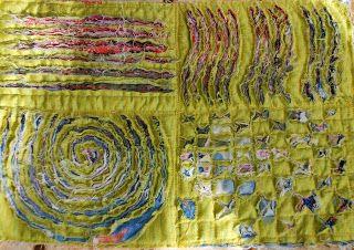 Fabric slashing and layering