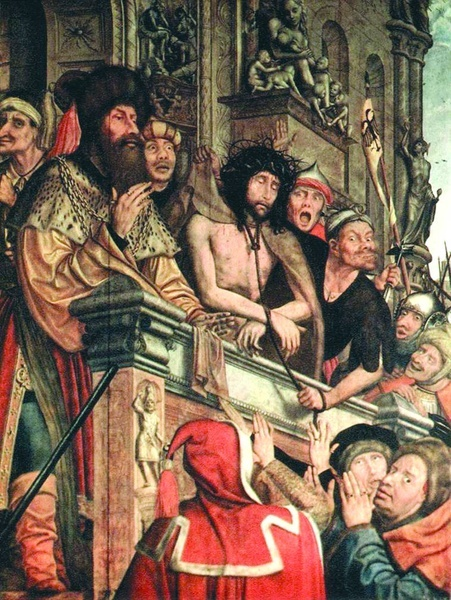 """2005.10 // Quentin Massys """"Ecce Homo"""", olej na desce, ok. 1515, Muzeum Prado (Madryt)"""