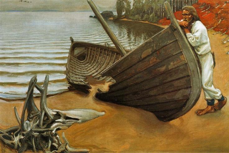 The Boat's Lament  Akseli Gallen Kallela  (Kalevala Scenes)