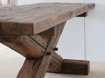Tisch aus Altholz 2