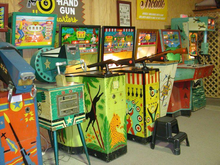 Arcade en image vintage