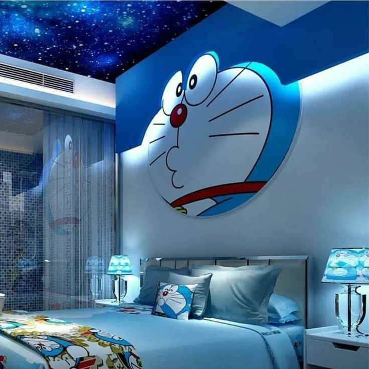 Pin By Ike Ajeng On Cute Cartoon Animation Pictures Doraemon Kids Bedroom Designs Doraemon Wallpapers Doraemon wallpaper wall pictures