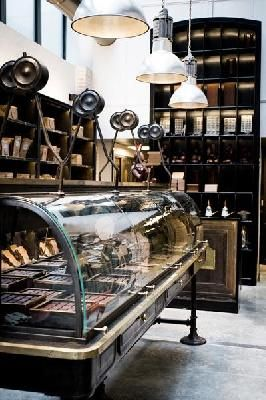 La Chocolaterie Alain Ducasse, la Manufacture à Paris